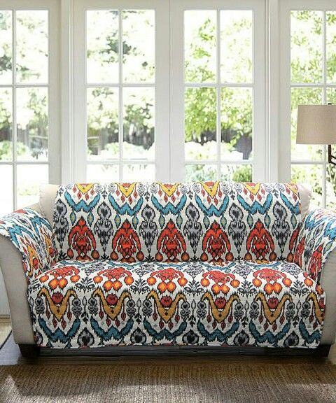funky couch cover in fun colors zulily wishlist sofa protector rh pinterest com