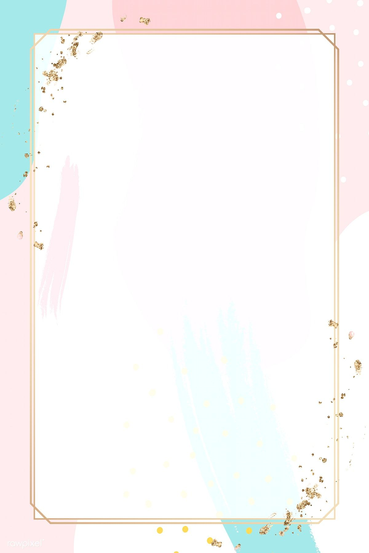 Download premium vector of Rectangle gold frame on colorful Memphis pattern background vector by Aum about background, rame, rectangle gold frames, rectangle Memphis frame vector, and colorful modernism 1209384