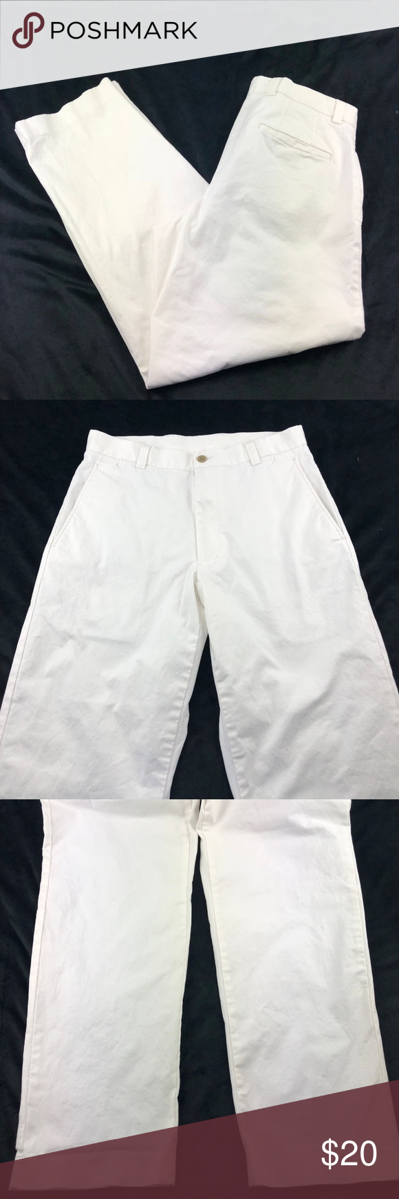 dce723756a Kenneth Cole Reaction Mens Chinos Pant White (O11) Kenneth Cole Reaction Men s  Chinos Pants