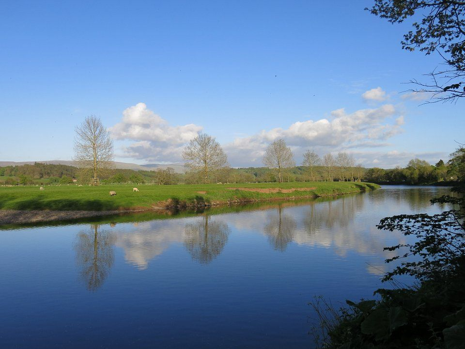 Camping lazonby camp site penrith camp site cumbria - Campsites in cumbria with swimming pool ...