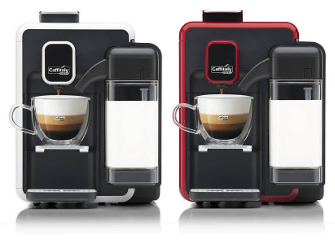 كــافـيـتـالــي On Instagram جهاز كــابــوتــشــيـنـا إس ٢٢ مــن كـافـيـتالي بلونيه المميزين بـمـواصفات جديدة لأول مر Morning Coffee Coffee Coffee Maker
