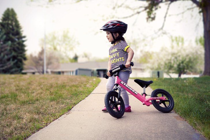 Pin for Later: 15 Photos Every Parent Should Take of Their Child's Firsts First Bike Ride Before your tiny tot zooms away on his or her bike, snap a candid photo of their first solo ride.