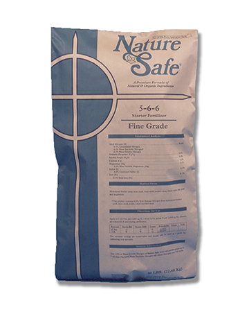 Nature Safe 5 6 6 Starter Fertilizer Is A 100 All Natural And Organic Homogeneous Fertilizer Designed For The Development Of De In 2020 Fertilizer All Natural Organic