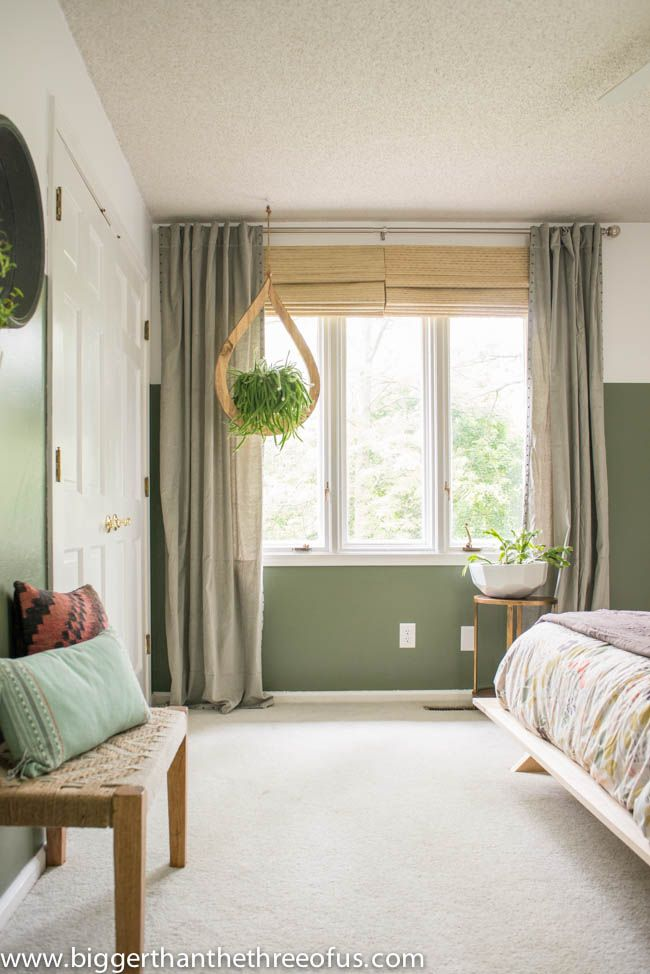 Best Modern Eclectic Bedroom Feature Wall Living Room Green 400 x 300