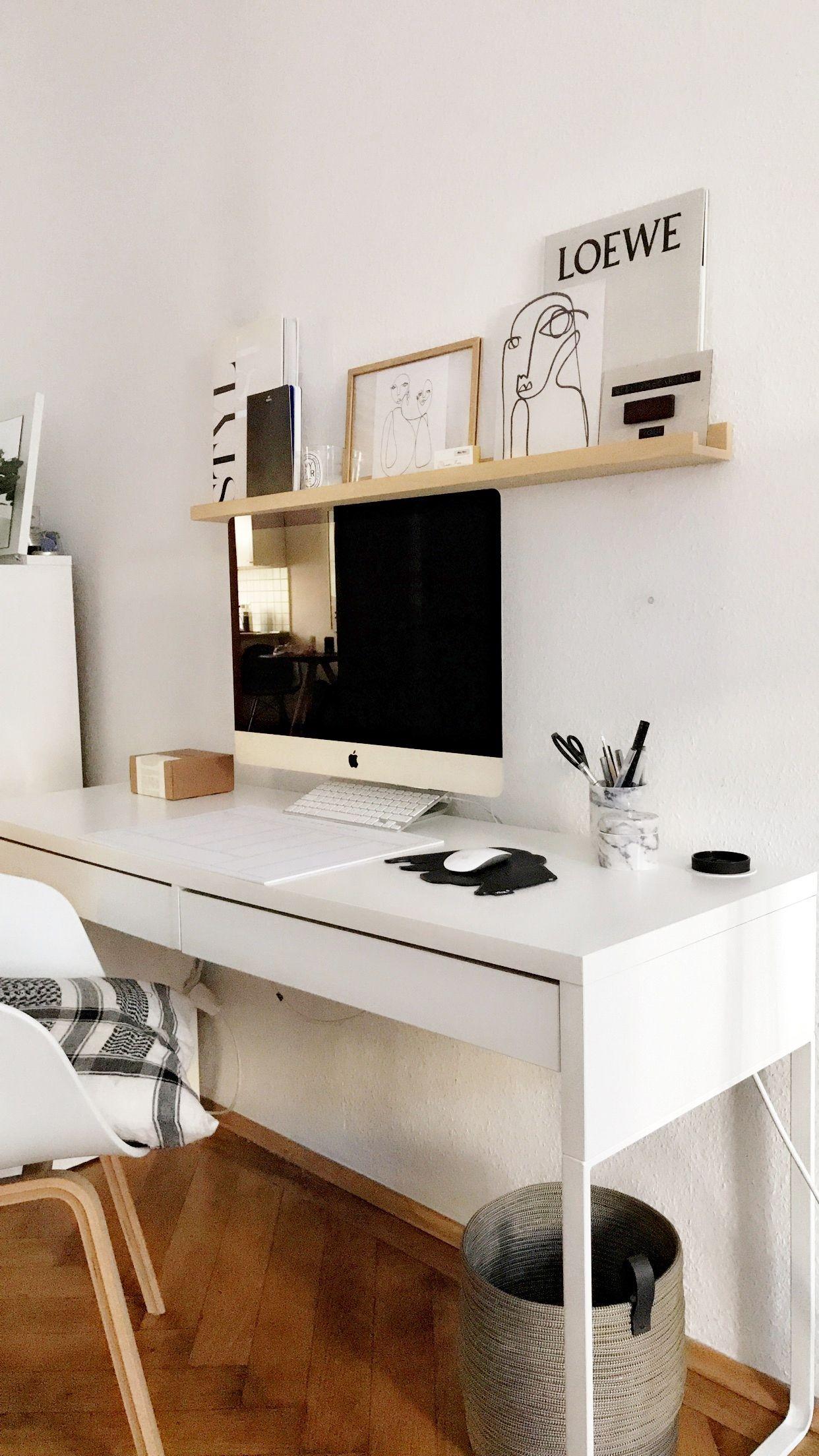 Home is where your stories begin Ein stylischer Arbeitsplatz darf im Zuhause von Alexandra Krüsi