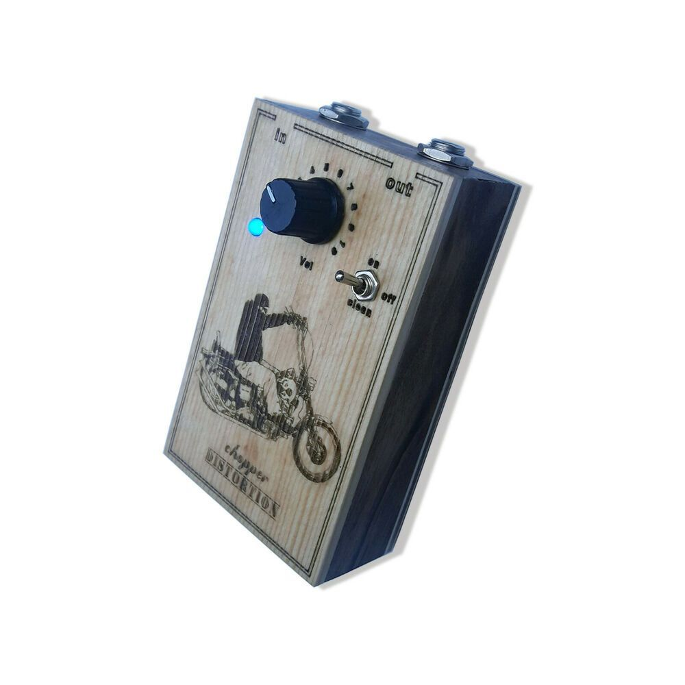 Wooden Box Distortion Guitar Pedal Handmade #MC #guitarpedals Wooden Box Distortion Guitar Pedal Handmade #MC #guitarpedals