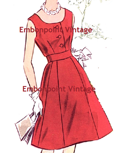 No 11 Sandra Dress Pattern