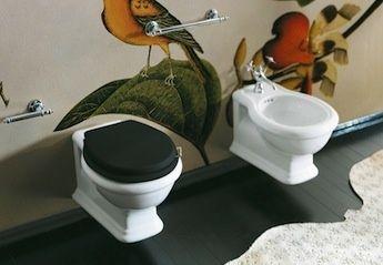 Klassieke toiletten sanitair webwinkel klassieke badkamers