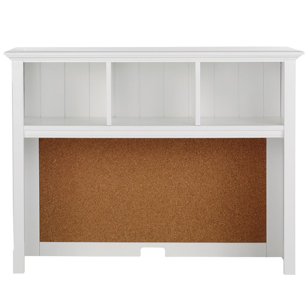 Shop Walden Desk Hutch White Ponder this Practical design and