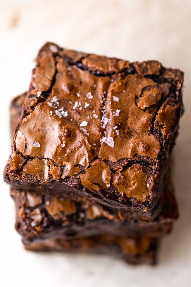 The Best Cocoa Fudge Brownies