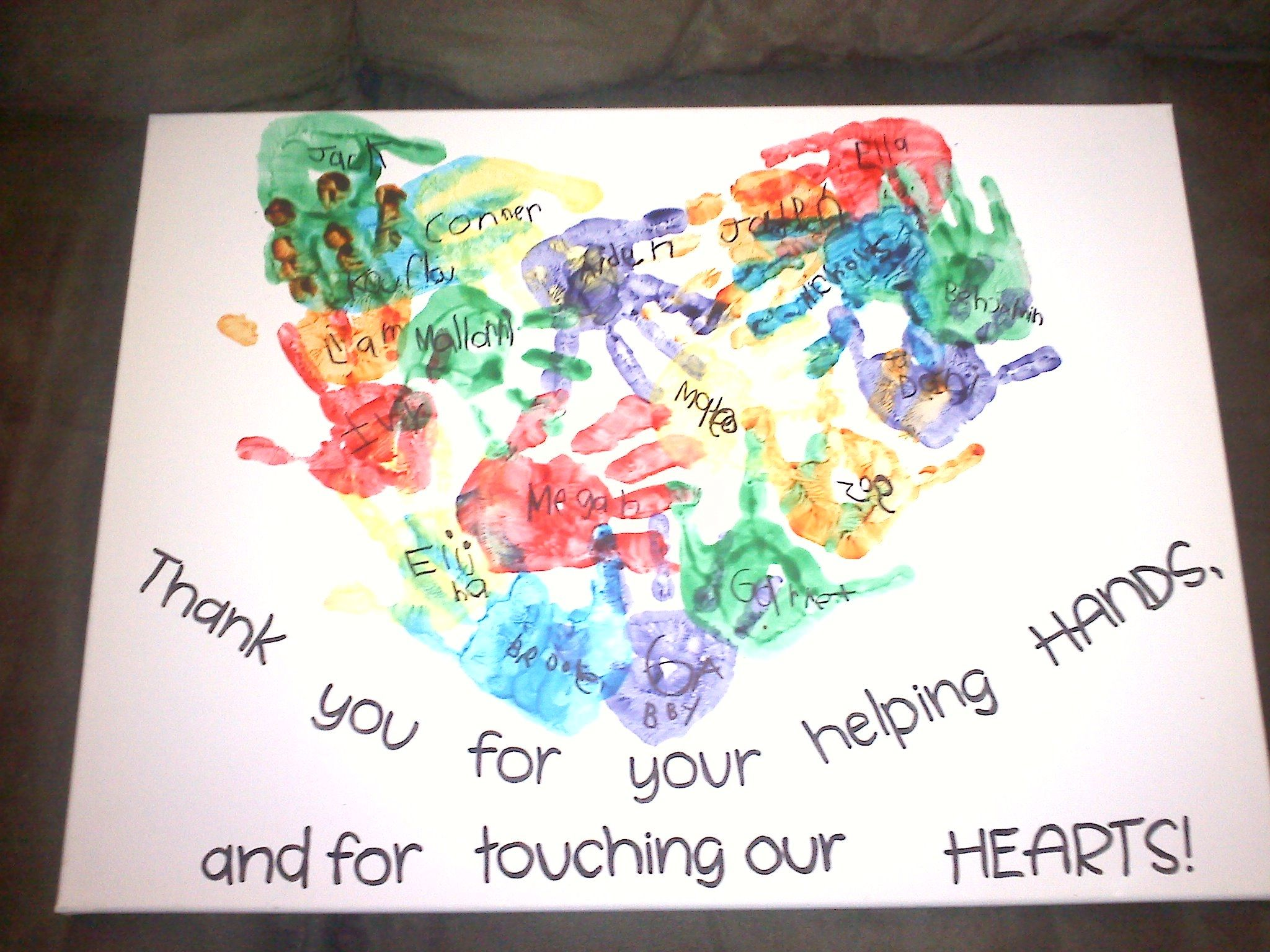 SUCCESS!!!! Thank you gift for student teacher ) Kids