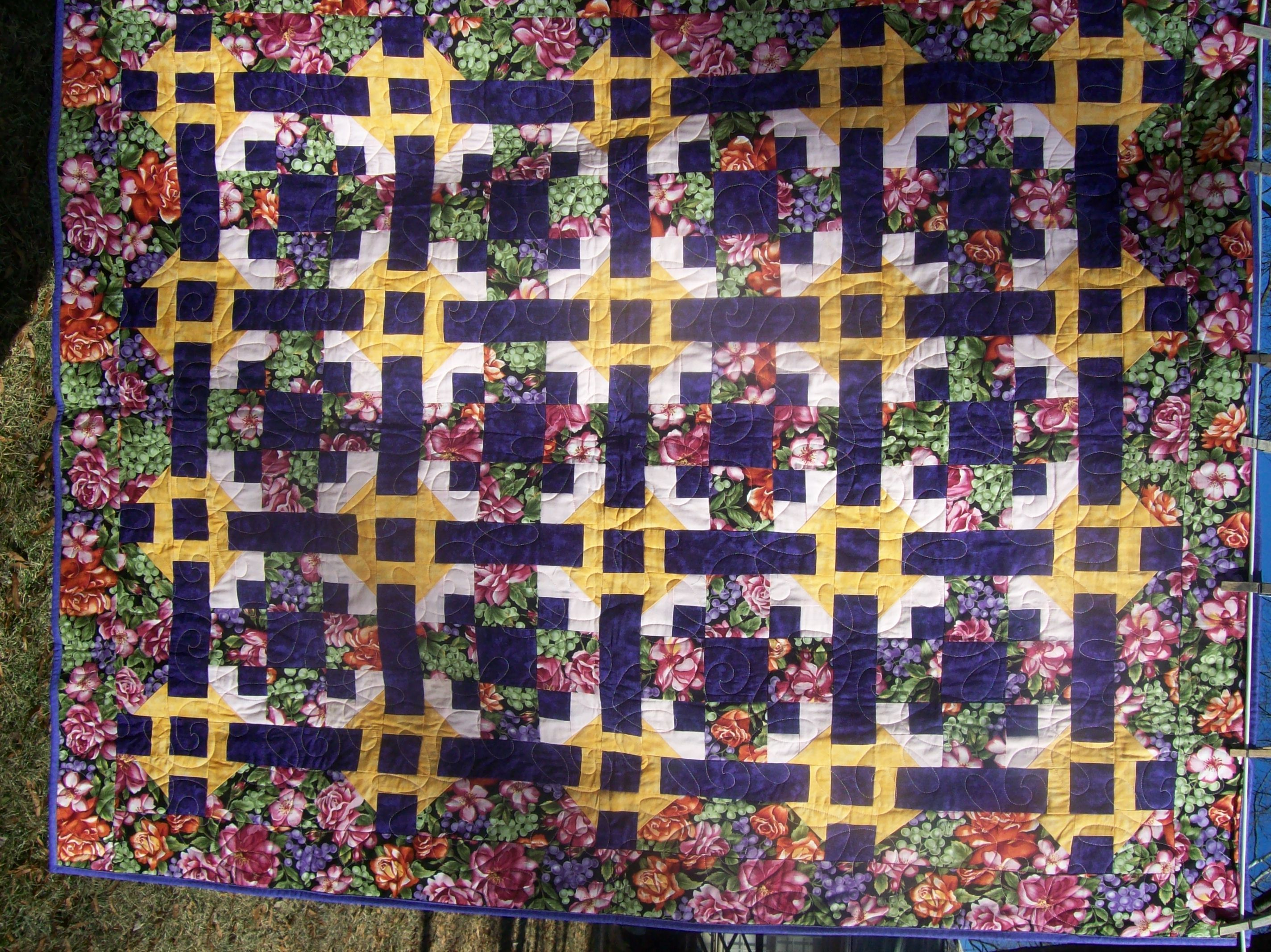 I Made This Quilt In A Quilt Guild Mystery Quilt Class Quilting Class Mystery Quilt Quilts