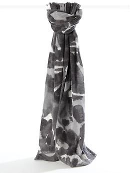 Watercolor floral scarf | Banana Republic