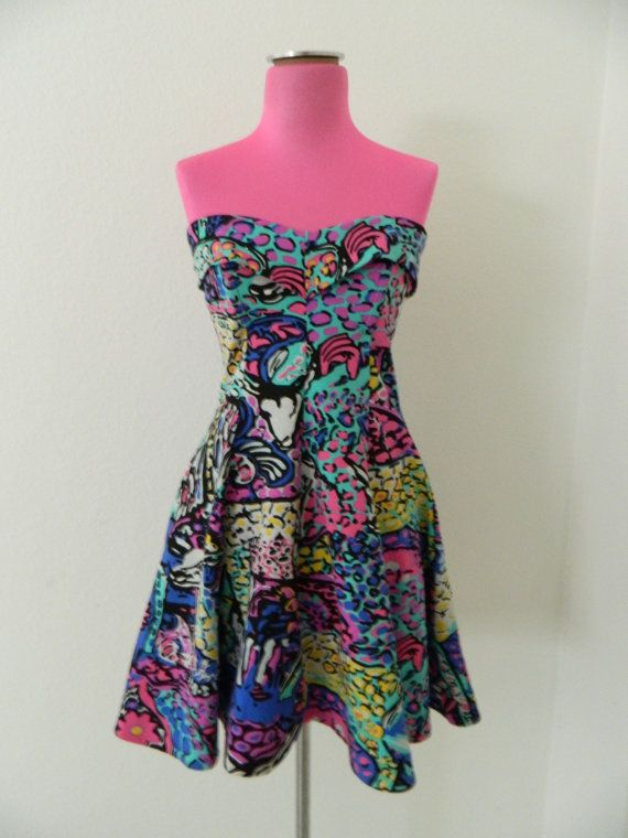 Vintage Betsey Johnson Dress By Bryanjohnny On Etsy 150 00
