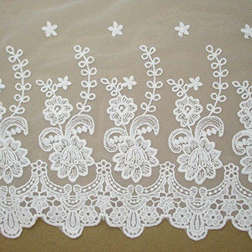 "11"" wide cotton floral embroidery craft lace supply clothes accessories by 1 yard HomeWorldCraft http://www.amazon.com/dp/B00N8HBXJE/ref=cm_sw_r_pi_dp_0mFRub1VRHV39"