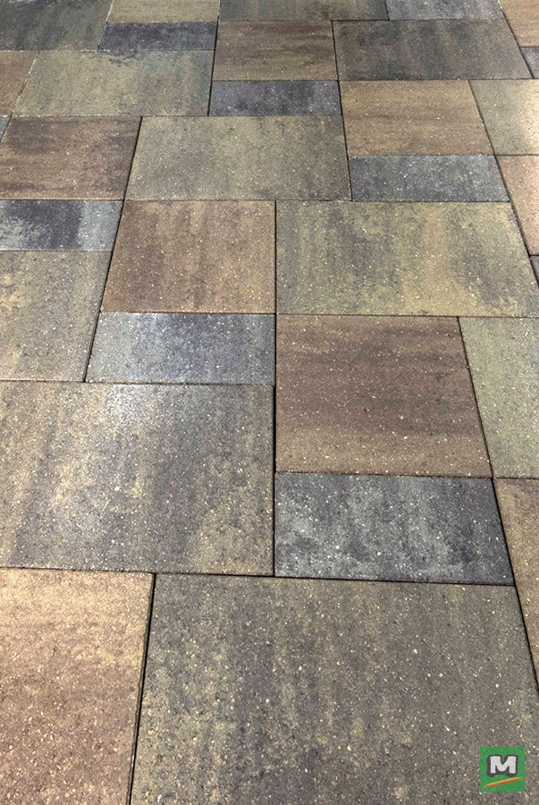 Perfect For Patios And Pathways Riverfront Pavers Provide Just The Right Form And Function To Your Yard Comb Patio Pavers Design Pavers Backyard Patio Blocks