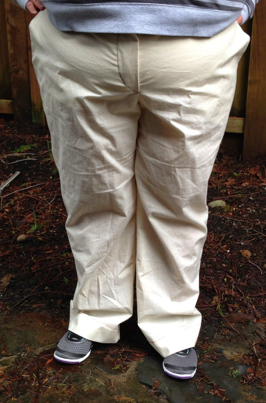 Sewing pattern adjustment for full belly abdomen for better fitting pants and…