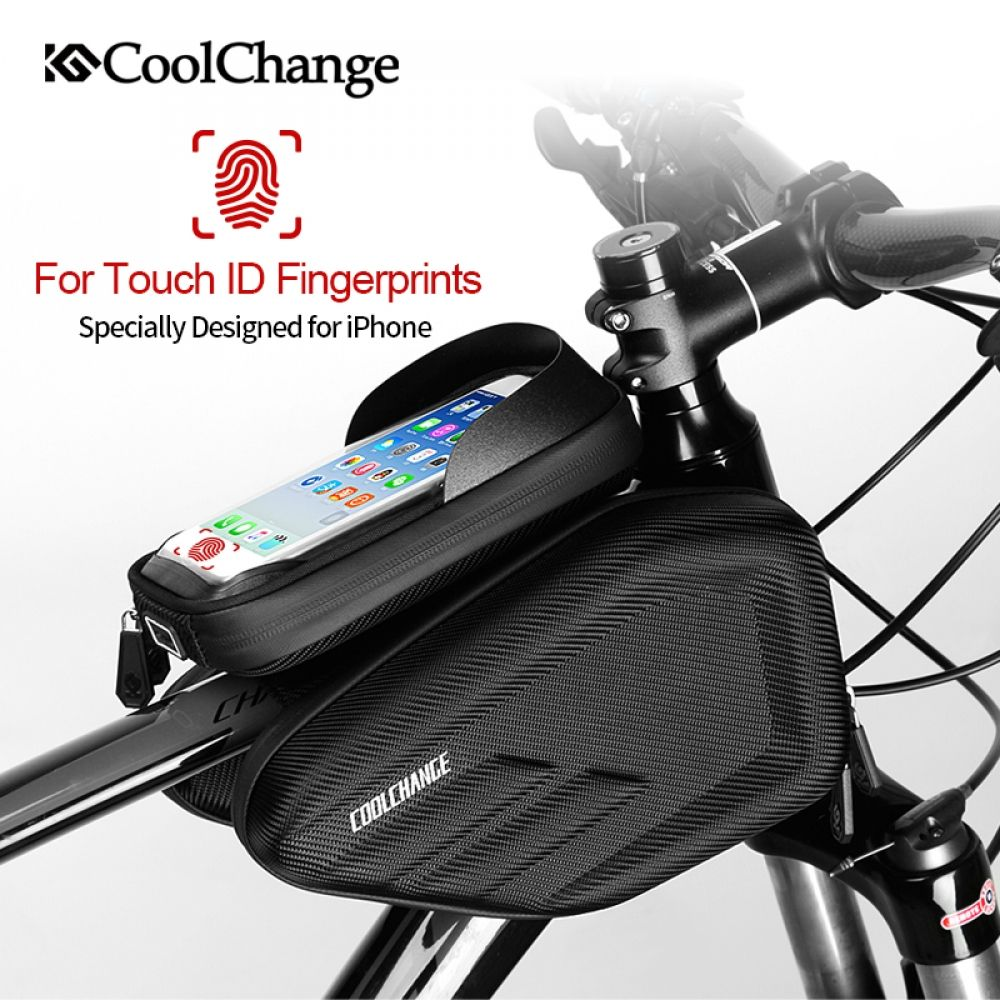 PVC PU Waterproof Cycling Bicycle Bike Top Frame Front Saddle Bag Pouch Holder