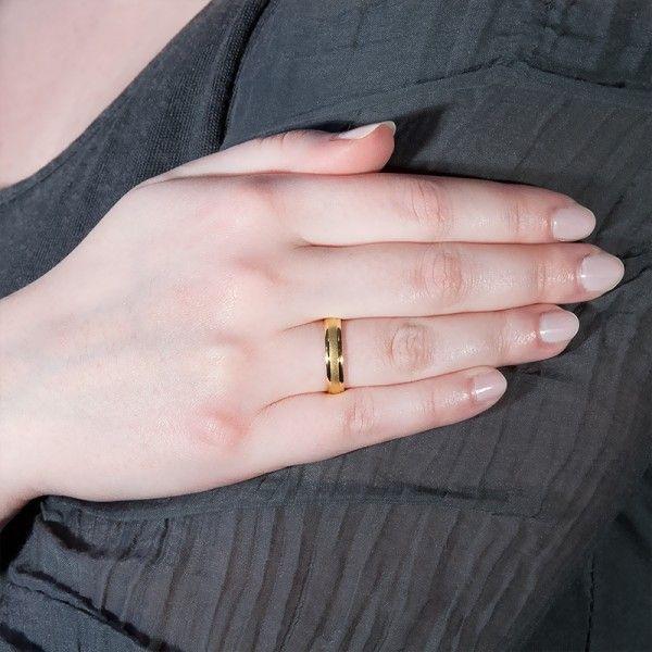 8b0b0b4ca8ac Alianza de boda referencia 5140044 de Argyor. En la web ocarat.com la  bautizan como modelo