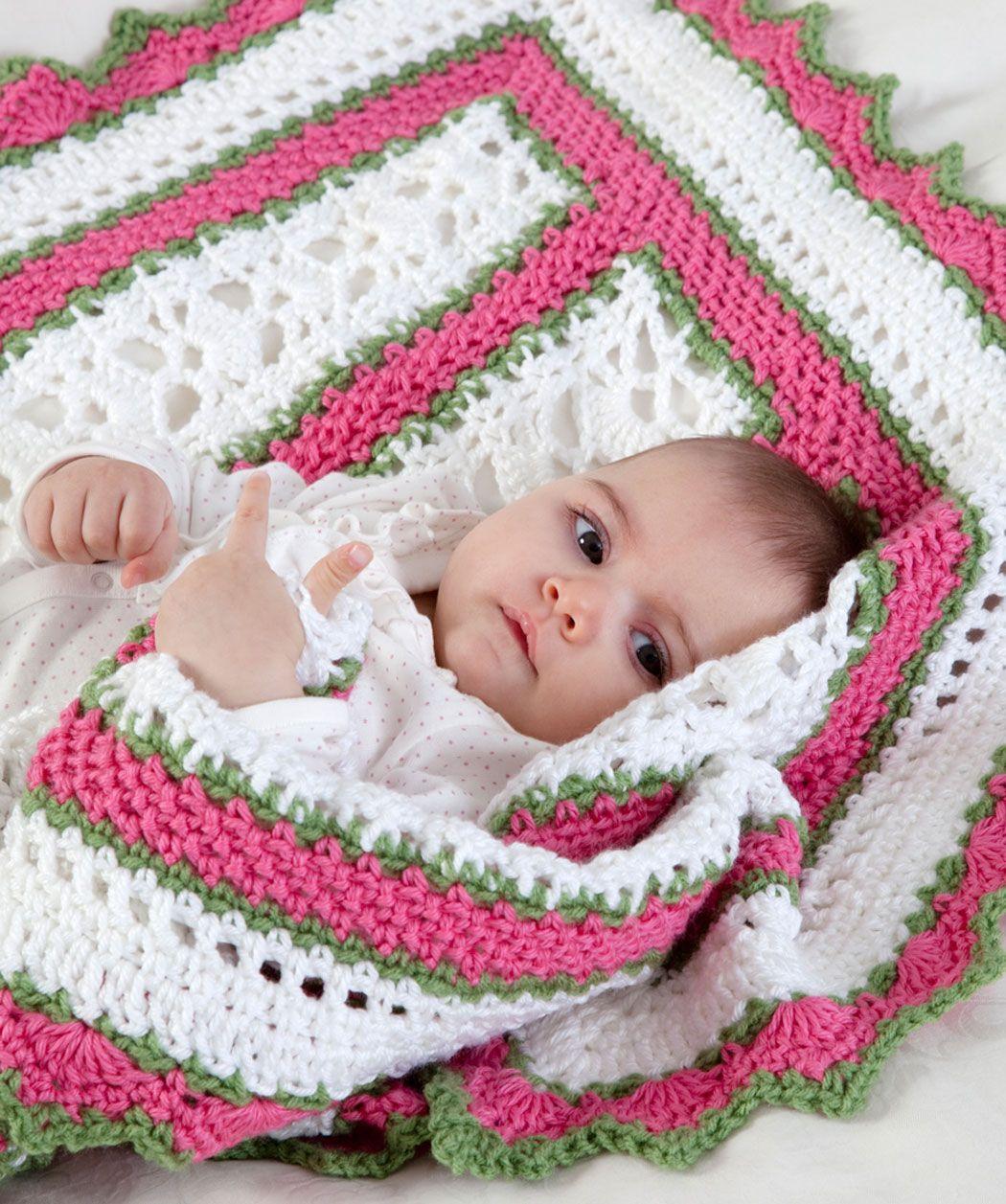 Sweet Baby Blanket: free pattern