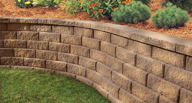 Diamond 10d Retaining Wall System Retaining Wall Retaining Wall Design Hardscape