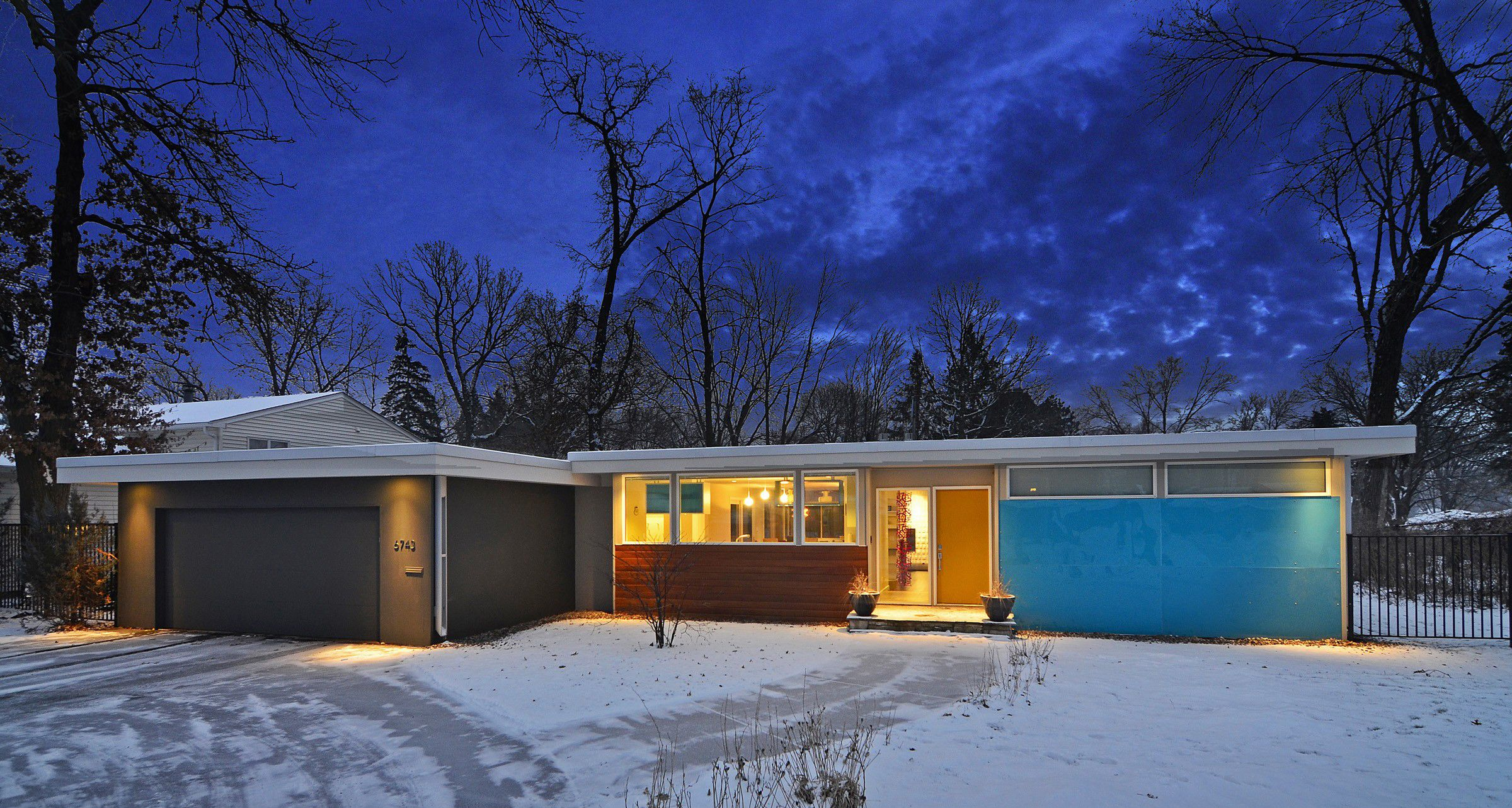 Flat Roof Rambler Google Search Mid Century Modern House Mid