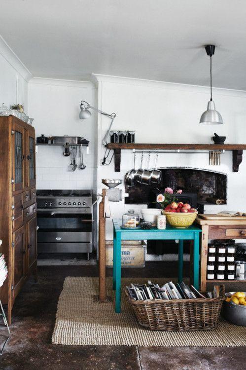 Sharyn Cairns rustic kitchen   rustic kitchen / farmhouse kitchen ...