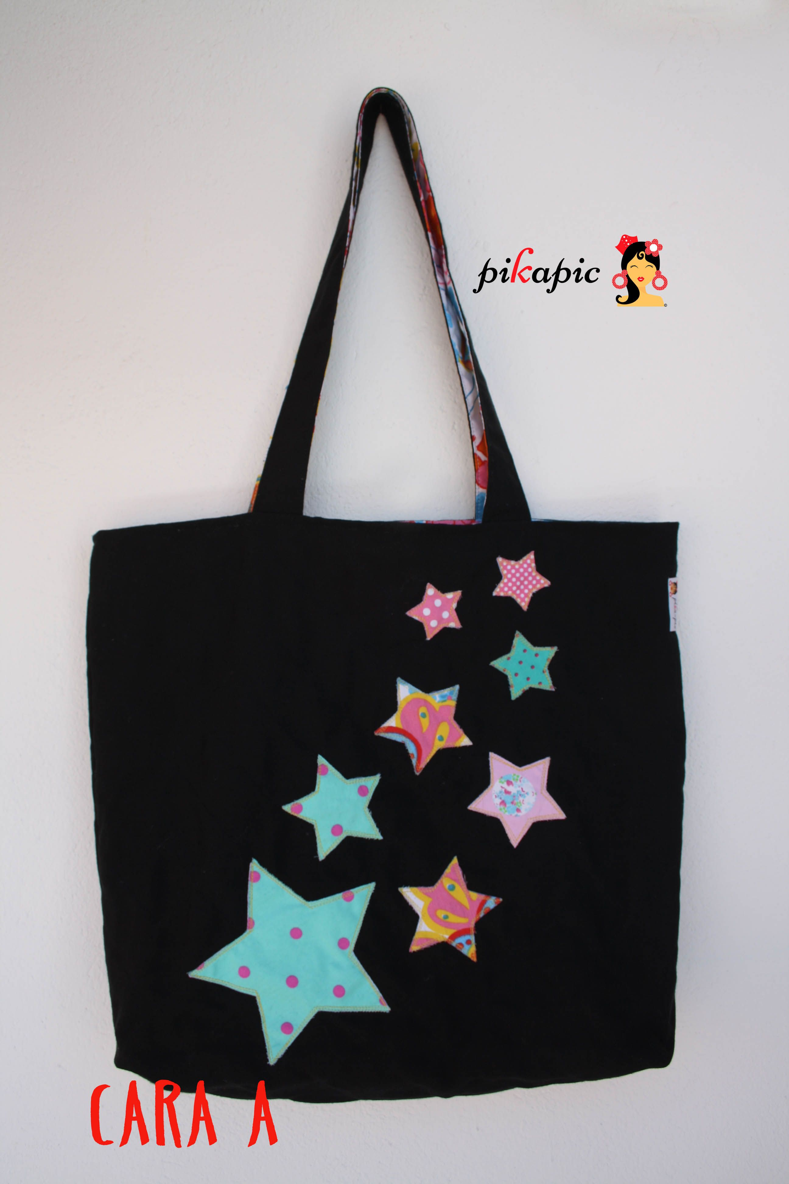 8bd09e95b www.pikapic.es Bolso estrellas | bolsos patchwork