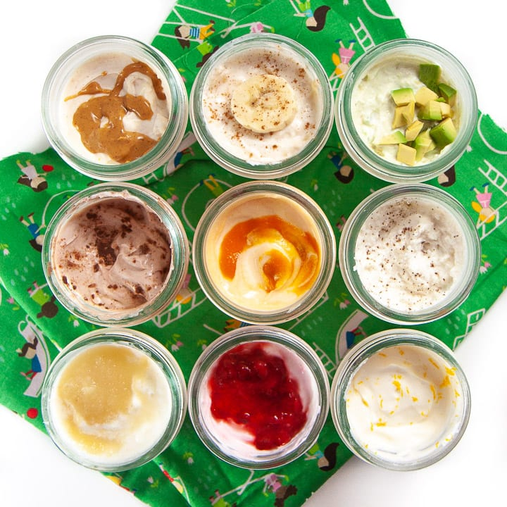 Best Yogurt For Babies Plus 9 Ways To Flavor Plain Yogurt Recipe In 2020 Organic Baby Food Homemade Baby Snacks Easy Baby Food Recipes