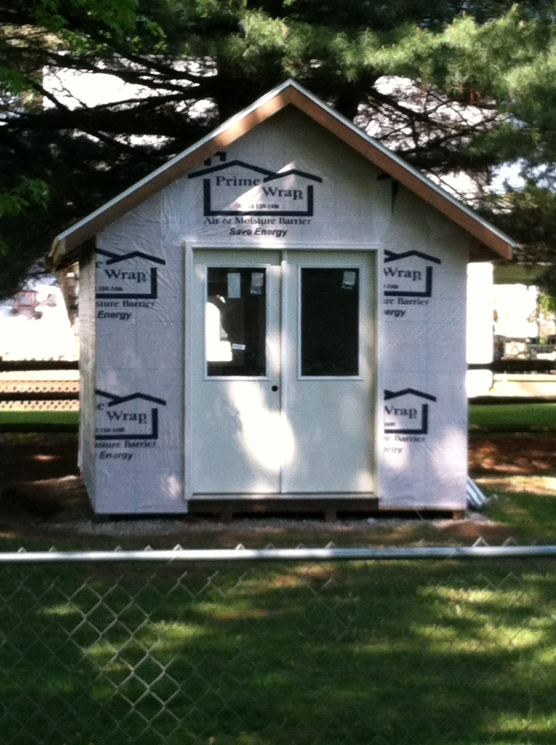 French doors added shed french doors garden shed