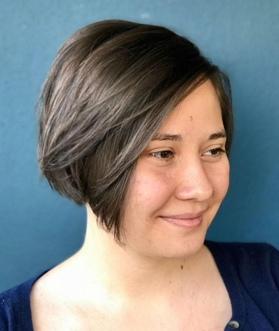 super cute looks with short hairstyles for round faces hair