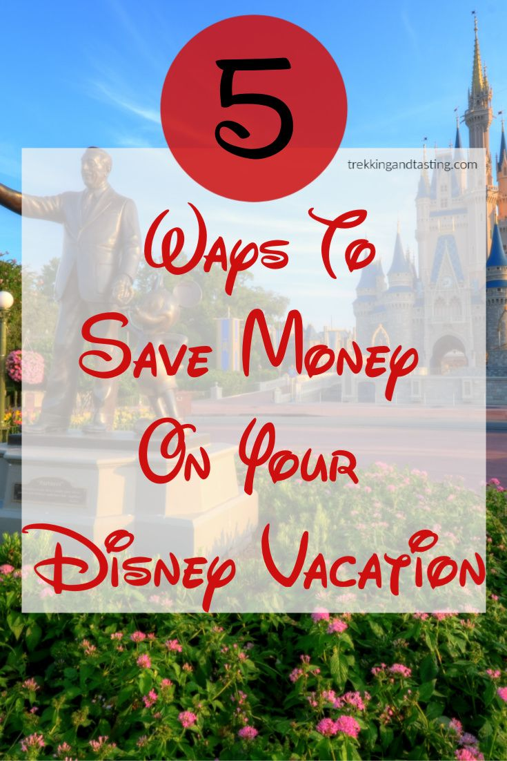 Ready to plan for a Disney vacation but you have a strict budget? Here are 5 ways to save money on your Disney vacation so you can enjoy the magic without breaking the bank. #Disney #budgetvacation #MagicKingdom #disneyworld #disneylife #familyvacation #familytravel #disneyparks #disneylove