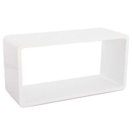 Cube De Rangement Uno En Bois Blanc En 2020 Cube Rangement Table Basse Blanche Laque Meuble Rangement