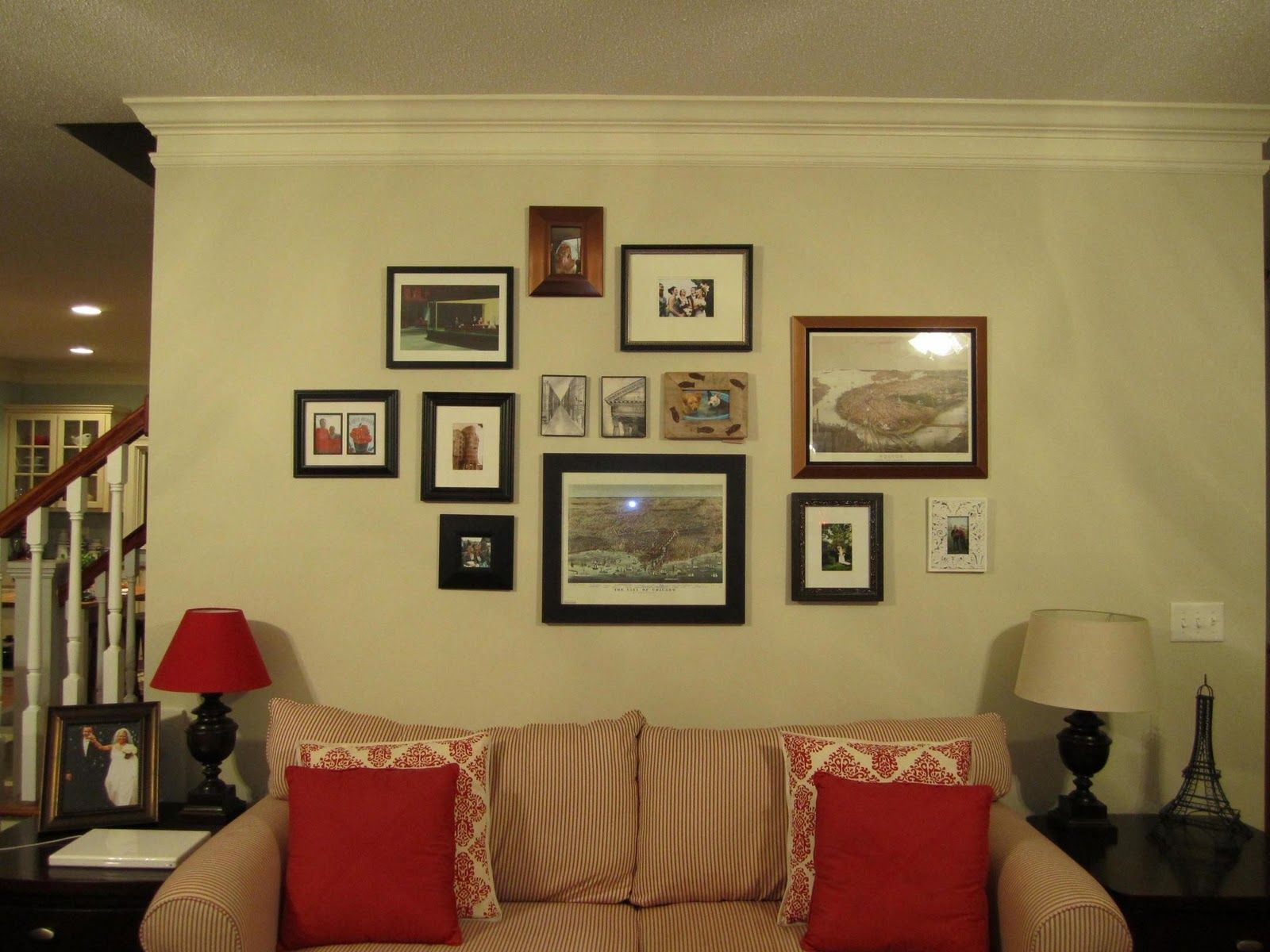 Corrin Wendell Designs Good To Know Gtk Organized Chaos Wall Frame Collage