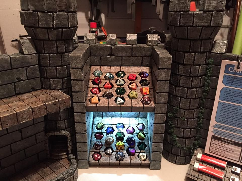 Building the Ultimate Dungeon Master Screen Dungeon