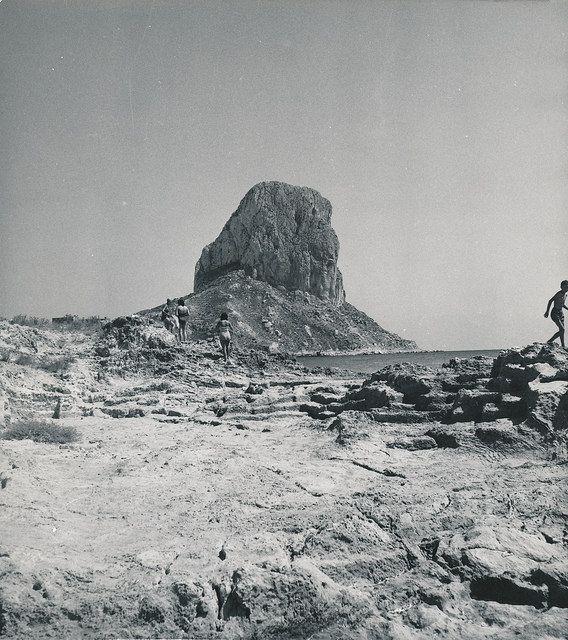 Vista del Peñón de Ifach   por Biblioteca Facultad de Empresa y Gestión Pública