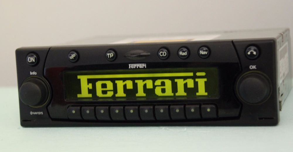 Ferrari 355 360 430 550 575 612 Becker BE6106 CD Radio Player