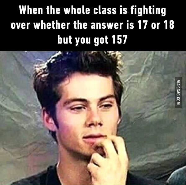 Flashbacks from my math class  is part of Funny memes - 37,968 points • 337 comments  Flashbacks from my math class   9GAG has the best funny pics, gifs, videos, gaming, anime, manga, movie, tv, cosplay, sport, food, memes, cute, fail, wtf photos on the internet!