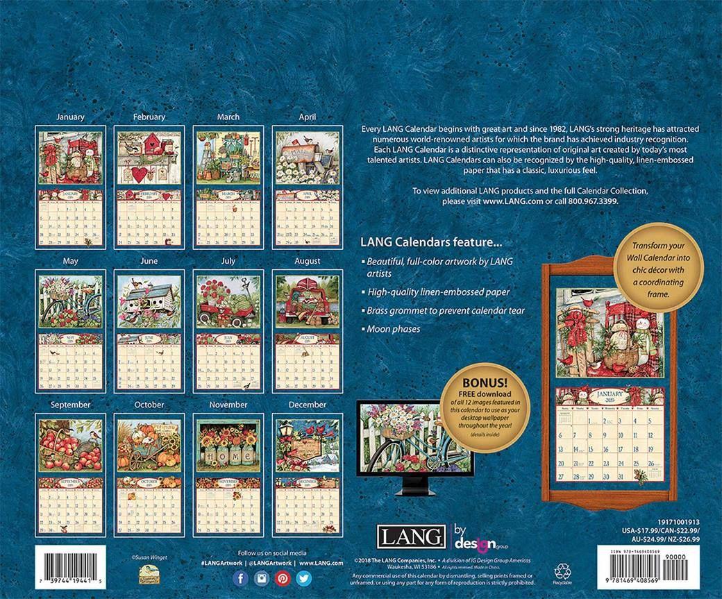 heart home deluxe calendar 2019 calendar world pinterest