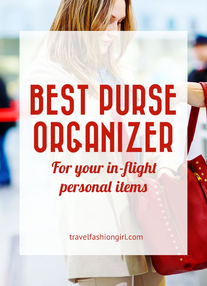 8a093b8d2b Have you heard of a purse organizer insert  They re awesome for travel!  Discover the best purse organizer for your in-flight personal item or travel  purse!