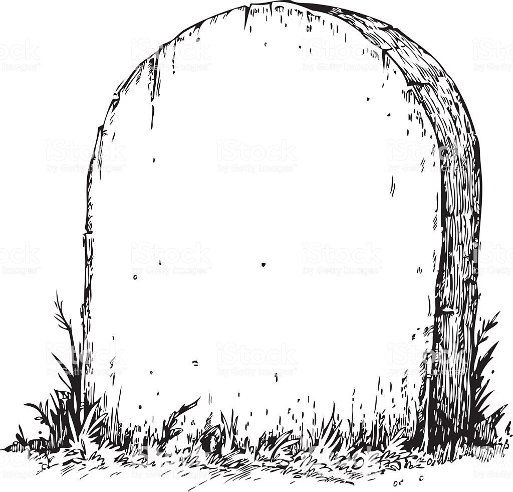 Illustration Of Tombstone Left Blank For Your Message Tombstone Drawing Sketches Tarot Cards Art