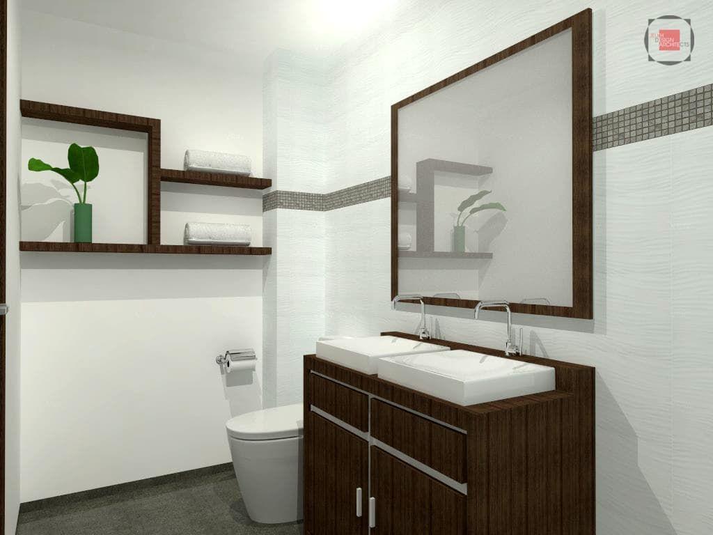 Fotos de baños de estilo moderno : baño principal