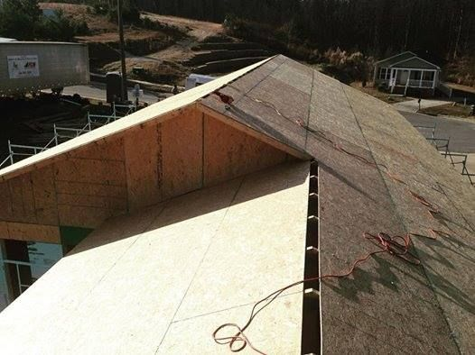 The roof is up on the Habitat Youth United house! Every year, youth in Forsyth County raise money for, and build, a Habitat home. Many Forsyth County schools have a Habitat Club, although youth don't have to be in a School Habitat Club to be involved. Call us for more information!