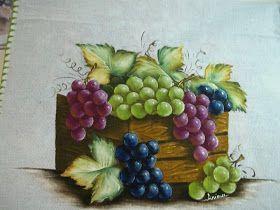 flores e frutas para pintar em tecido - Pesquisa Google
