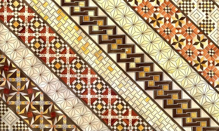 Wood Mosaic Patterns   This delicate and intricate mosaic design is ...