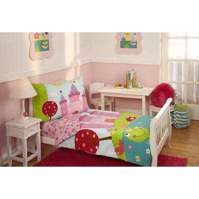 Everything Kids 4 Piece Fairytale Toddler Bedding Set 5165416