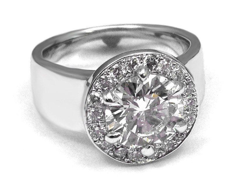 48+ Square wedding rings silver ideas