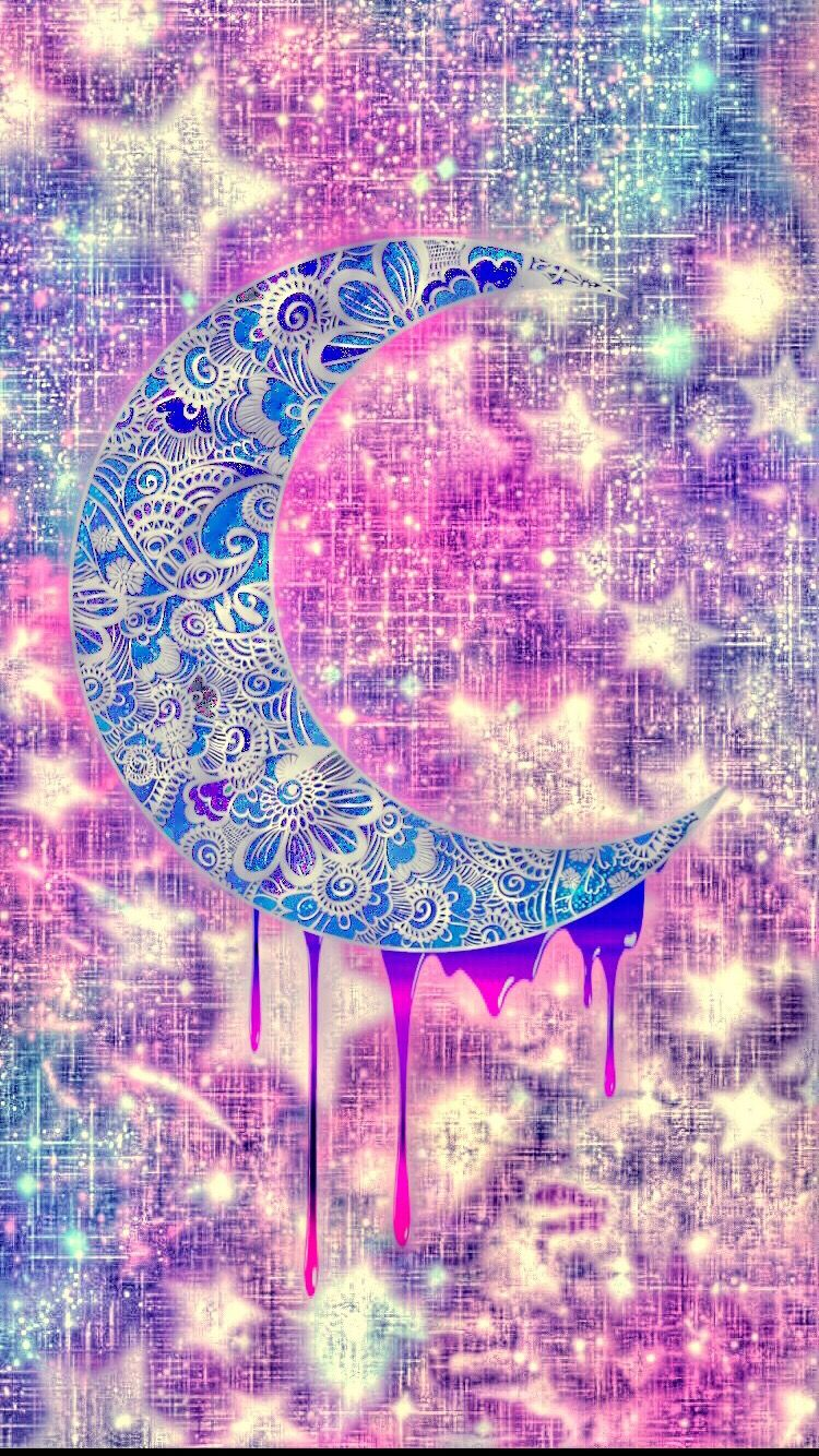 Cute girly moon Cool wallpapers girly, Cool wallpapers