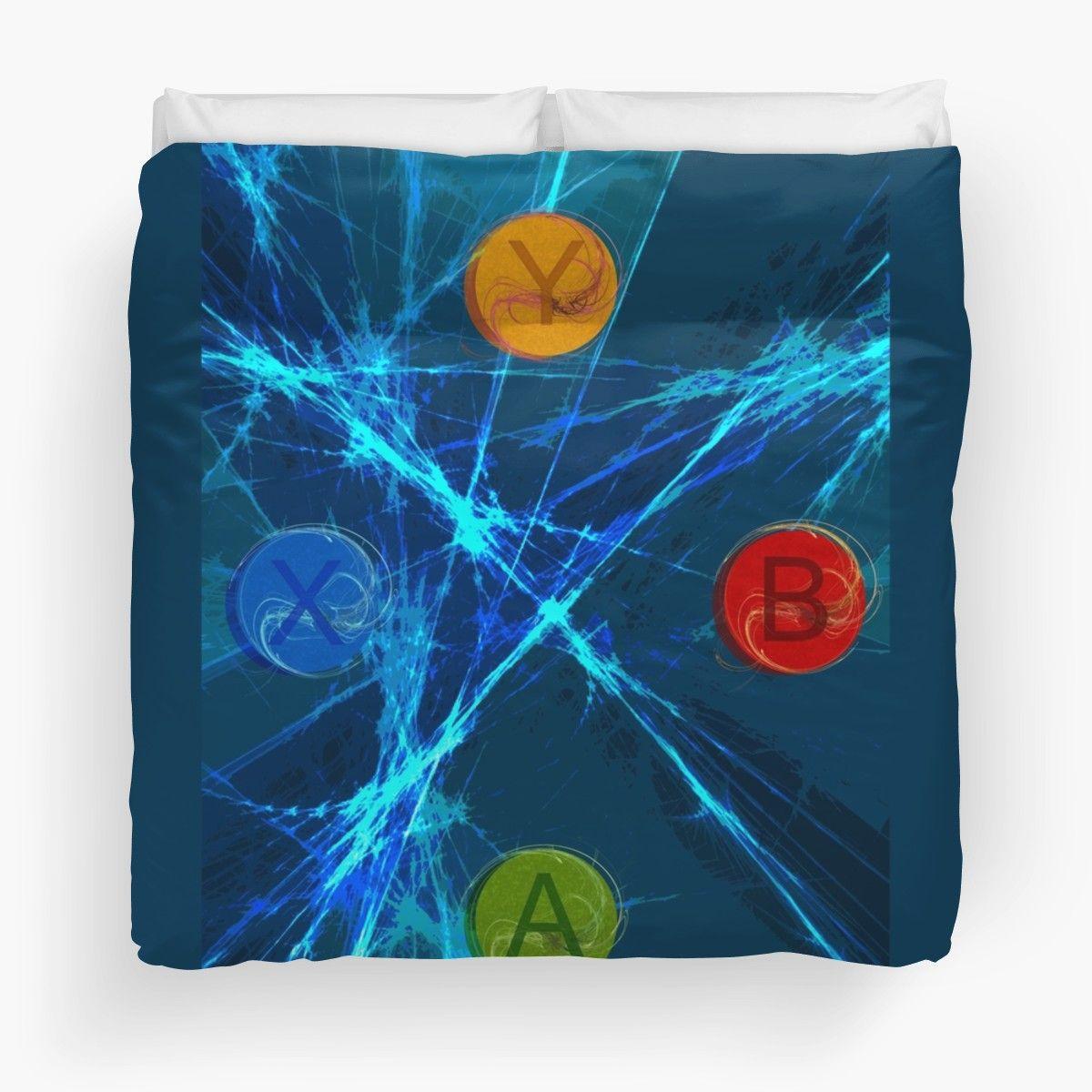 'XBox Controller  ' Duvet Cover by emilypigou
