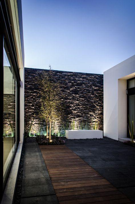 Casa Agr C Oscar Hernandez Diseno De Terraza Diseno De Patio Arquitectura